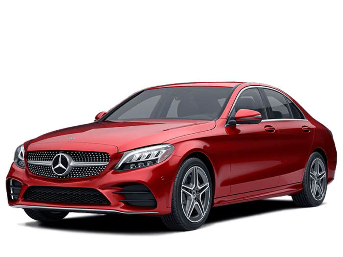 2019 Mercedes-Benz C-Class Sedan Hero Image