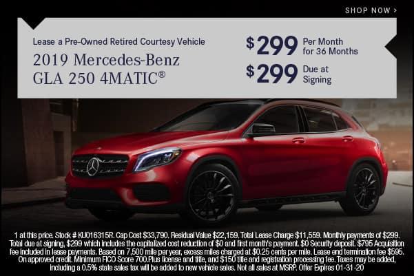 2019 Mercedes-Benz GLA 250 4MATIC
