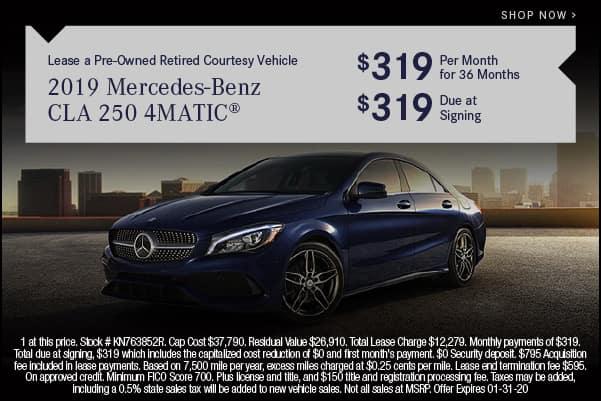 2019 Mercedes-Benz CLA 250 4MATIC
