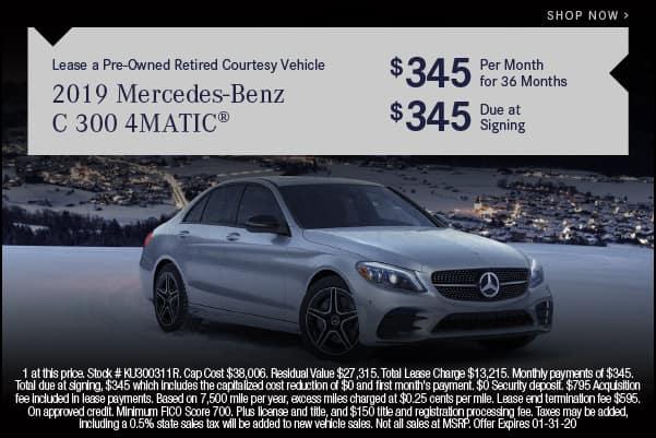2019 Mercedes-Benz C 300 4MATIC