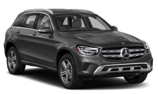 2020 Mercedes-Benz GLC front view comparison thumbnail