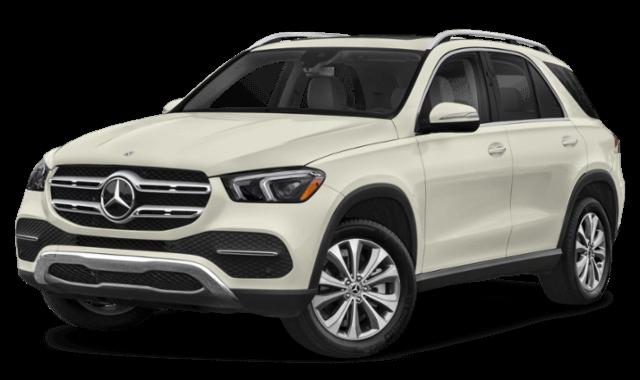 2020 Mercedes-Benz GLE frontview comparison thumbnail