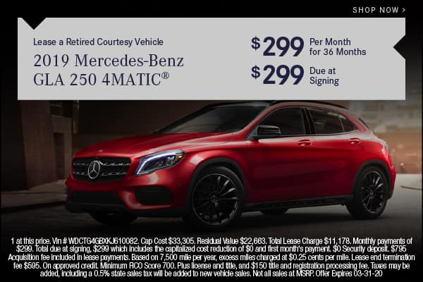 Pre-Owned 2019 Mercedes-Benz GLA 250 4MATIC® SUV AWD