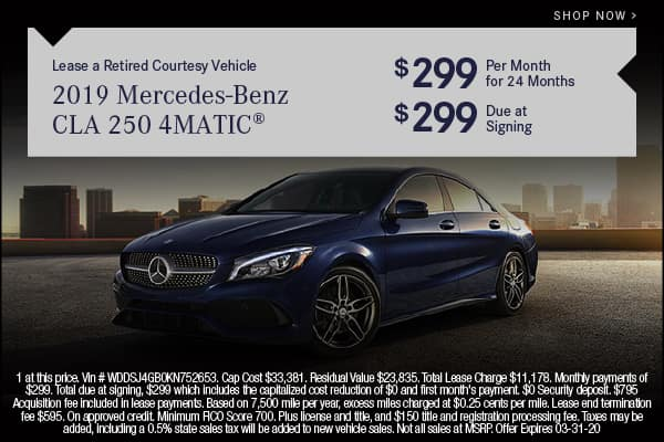 Pre-Owned 2019 Mercedes-Benz CLA 250 4MATIC® Coupe AWD