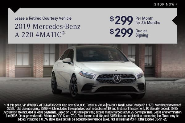 Pre-Owned 2019 Mercedes-Benz A 220 4MATIC® Sedan With Navigation & AWD