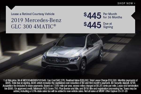Pre-Owned 2019 Mercedes-Benz GLC 300 AWD 4MATIC®