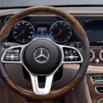2020 Mercedes-Benz E-Class Interior dashboard and steering wheel