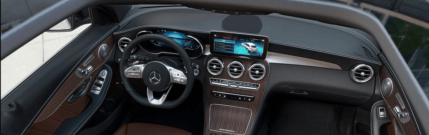2020 mercedes-benz glc dashboard