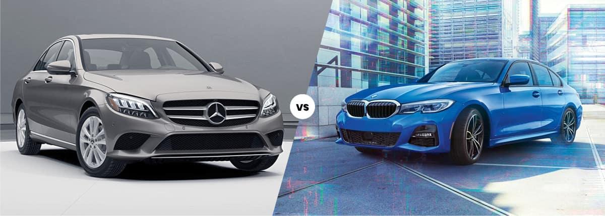 2021 Mercedes-Benz C-Class vs BMW 3 Series