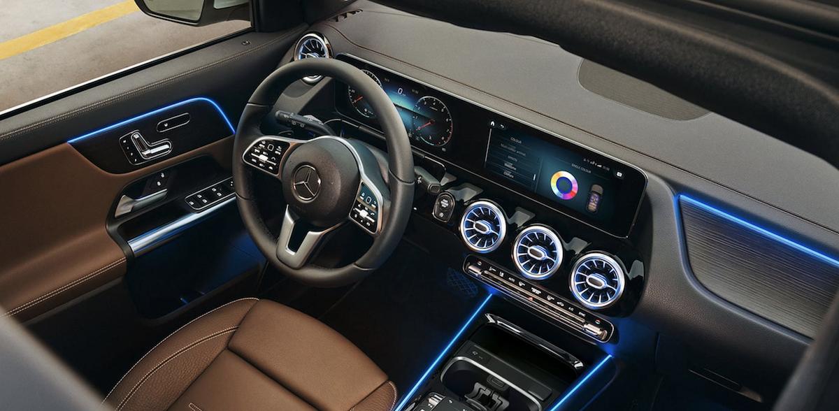2021 Mercedes-Benz GLA Interior Dashboard