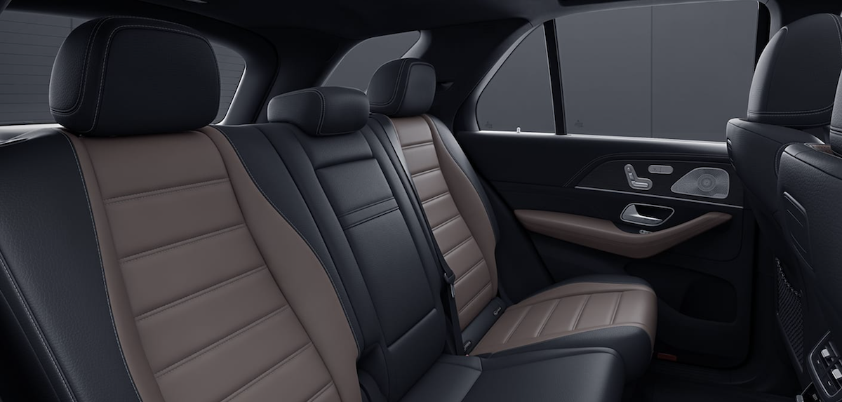 2021 Mercedes-Benz GLE Interior Back Row Seating