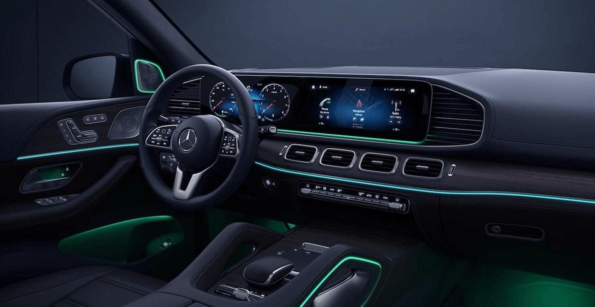 2021 Mercedes-Benz GLE Interior Dashboard