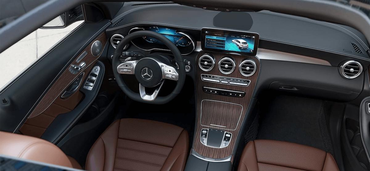 2021 Mercedes-Benz GLC Interior Dashboard Steering Wheel Banner