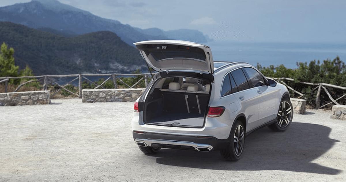2021 Mercedes-Benz GLC Trunk Space