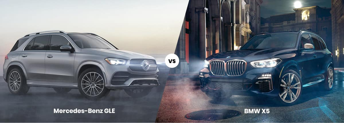 2021 Mercedes-Benz GLE vs BMW X5