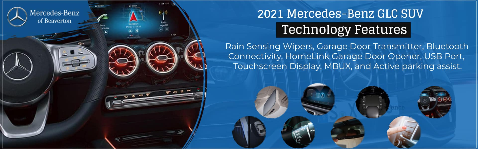 2021 Mercedes-Benz GLC SUV of Beaverton Technology