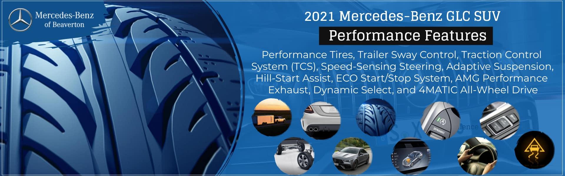 2021 Mercedes-Benz GLC SUV of Beaverton Performance Features