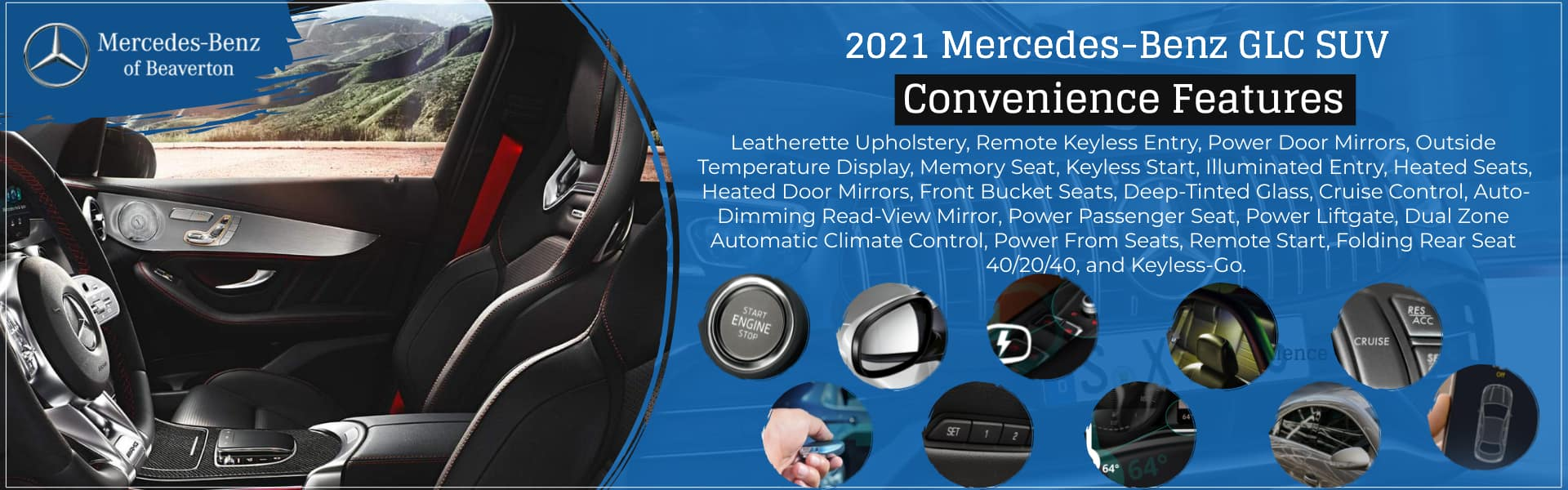 2021 Mercedes-Benz GLC SUV of Beaverton Convenience Features