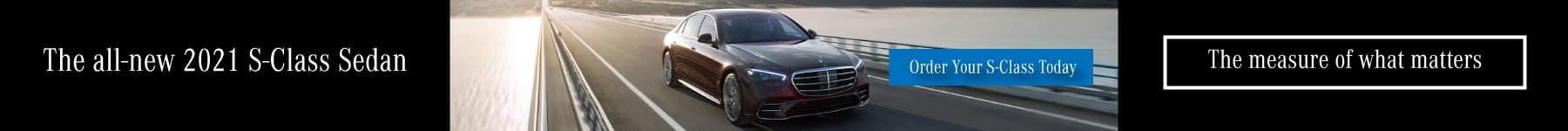 All-new 2021 S-Class Sedan