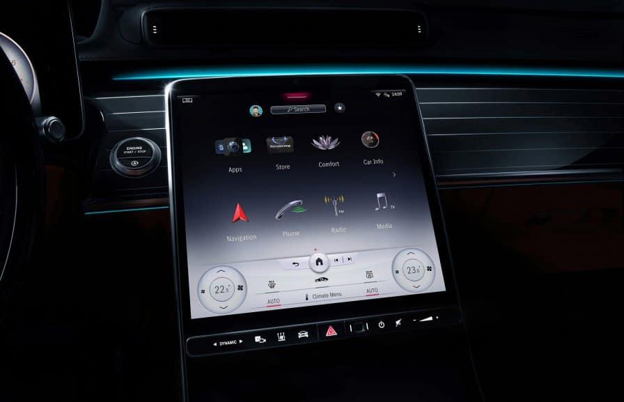 Mercedes-Benz of Beaverton - MBUX Infotainment System 2021 Augmented Technology Touchscreen