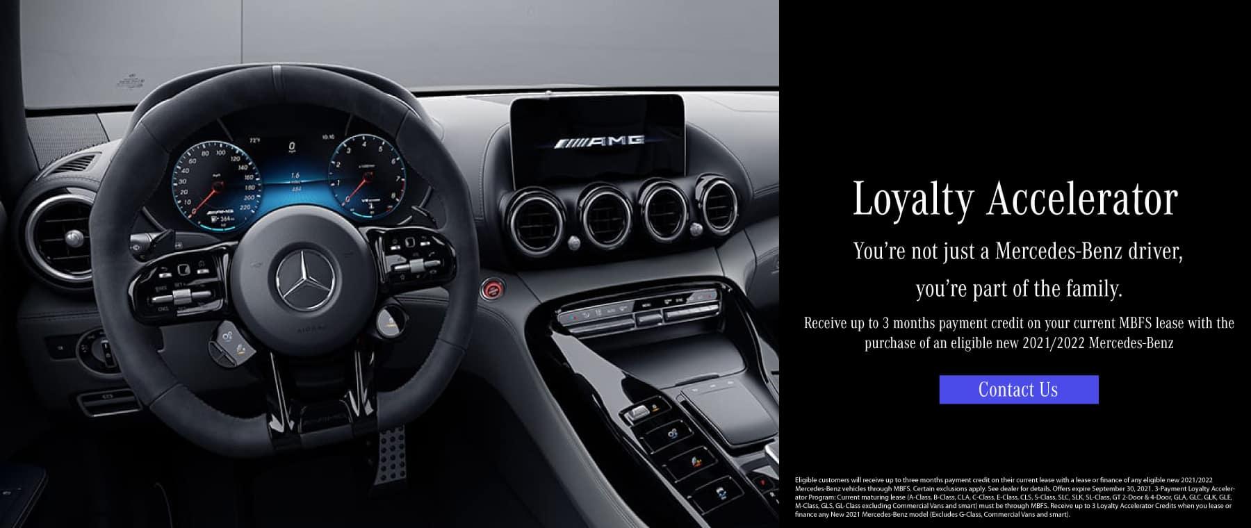 Mercedes-Benz of Beaverton Loyalty Accelerator new mercedes car specials
