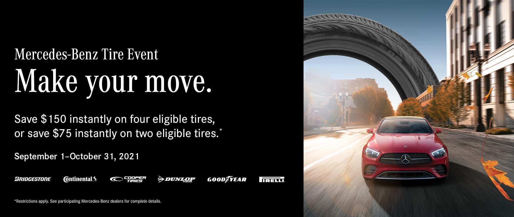 Mercedes-Benz of Beaverton Mercedes tire specials