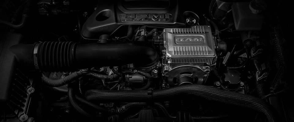 Mopar engine on Ram 1500