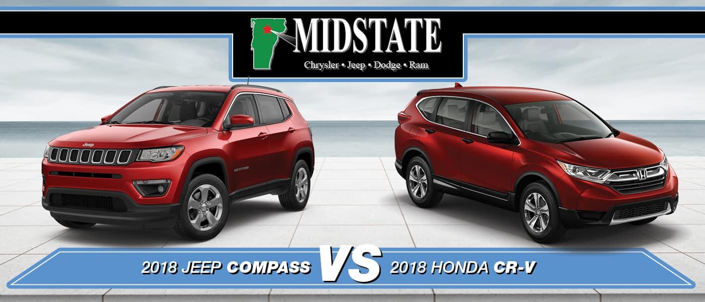 2018 Jeep Compass vs. Honda CR-V