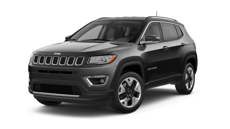 19Jeep Compass Jellybean Latitude Diamond Black Crystal