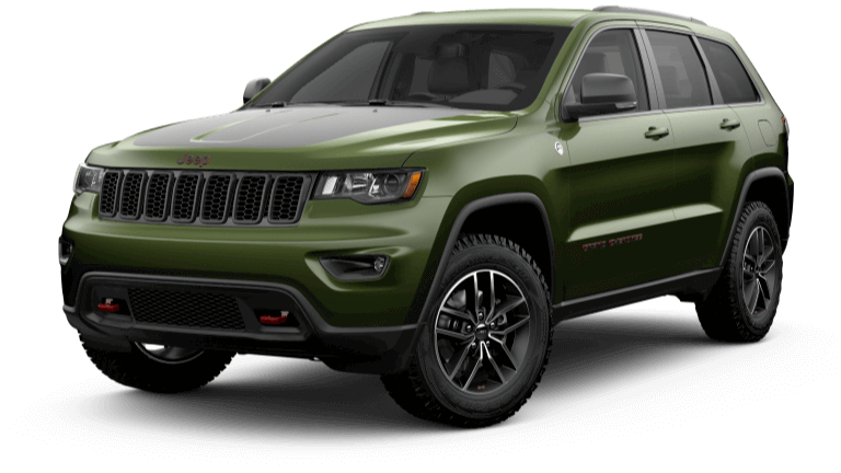 19Jeep Grand Cherokee Jellybean Trailhawk Green