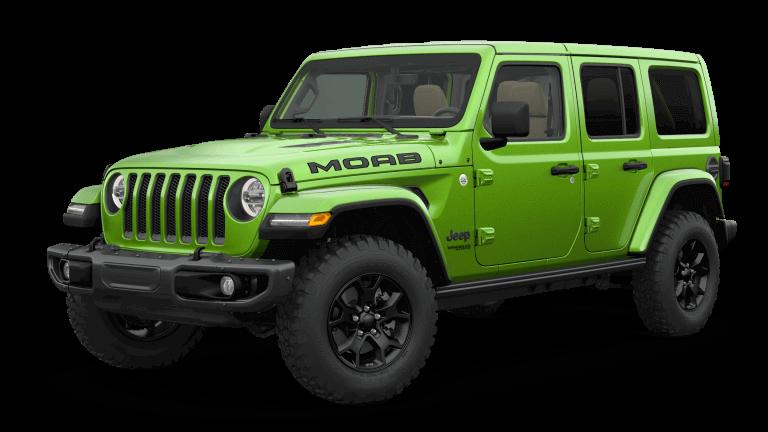 green 2019 Jeep Wrangler MOAB