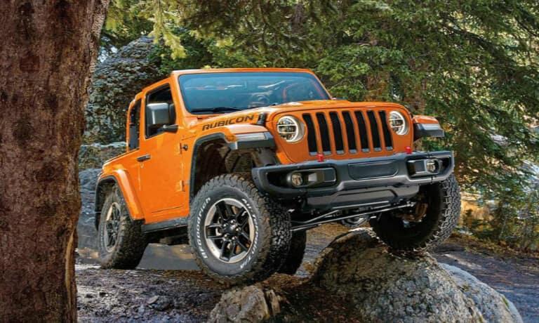 2019 Jeep Wrangler Rubicon off-roading
