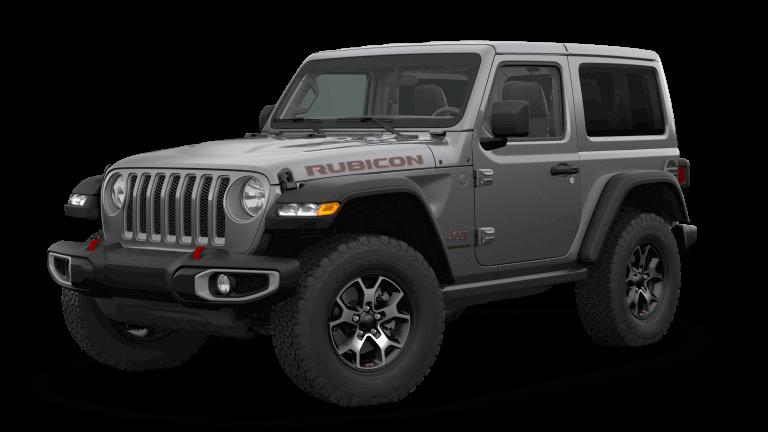 grey 2019 Jeep Wrangler Rubicon