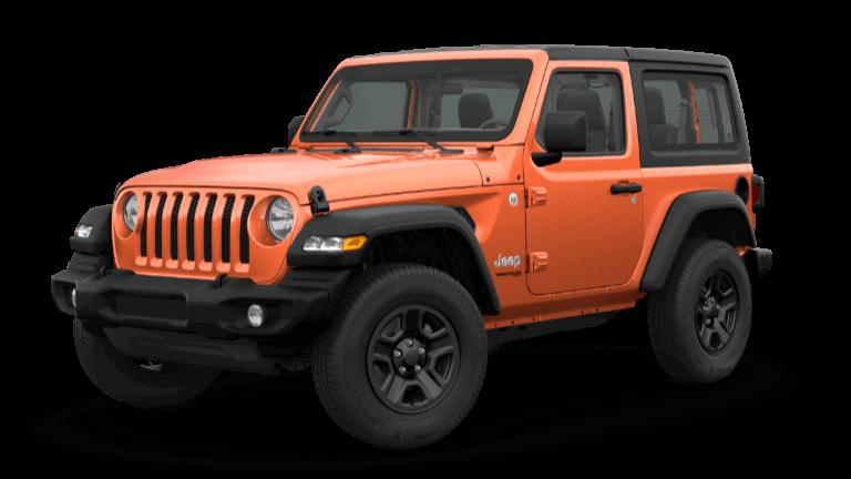 orange 2019 Jeep Wrangler Sport Altitude
