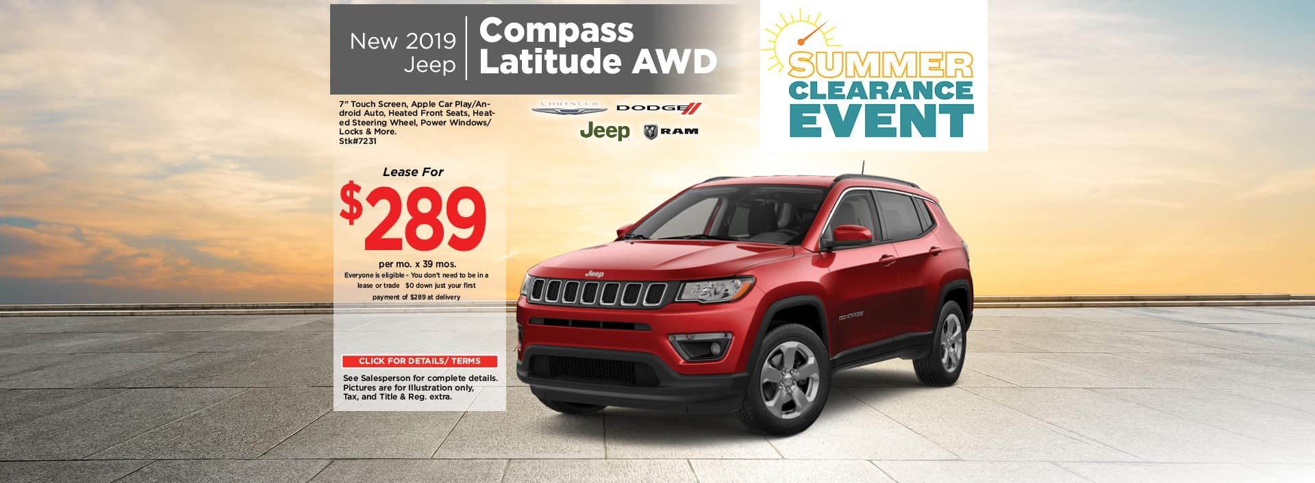 July Jeep Compass