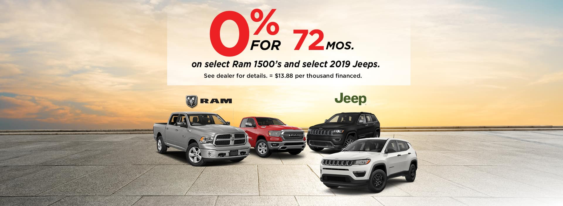 Jeep & Ram July