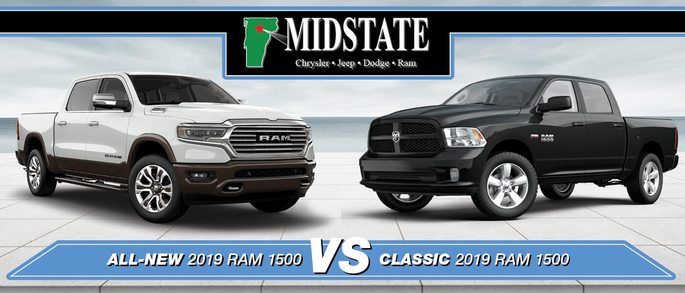 All-New vs. Classic 2019 Ram 1500