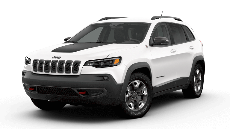 2019 Jeep Cherokee Trailhawk - Pearl White