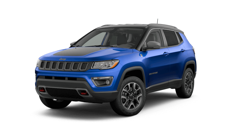 2019 Jeep Compass Trailhawk - Laser Blue