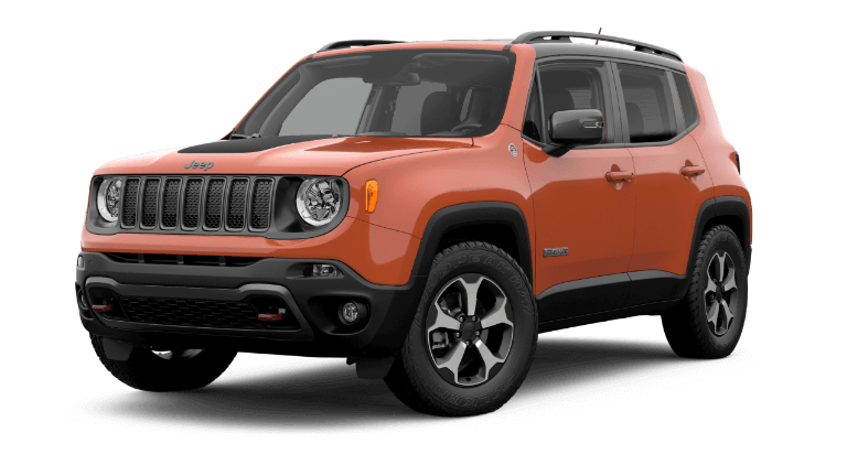 2019 Jeep Renegade Trailhawk - Omaha Orange
