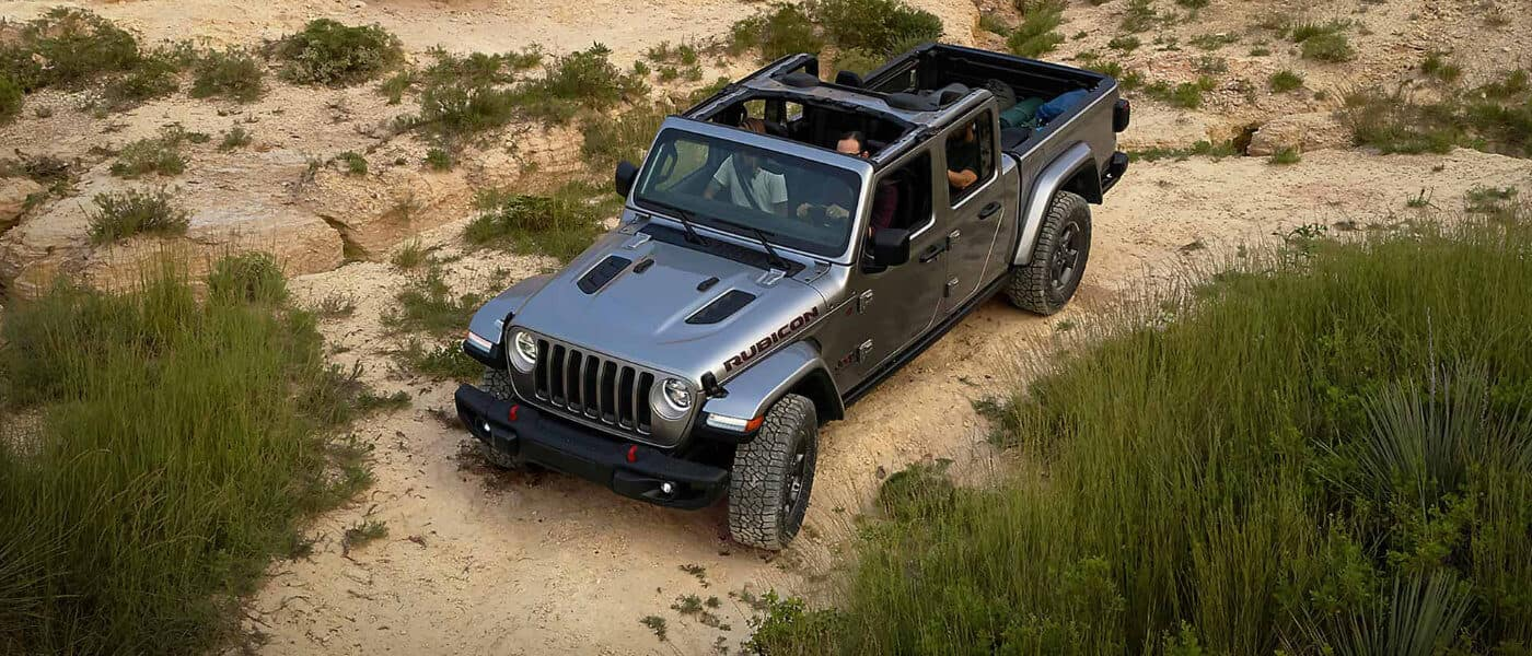 2019 Jeep Gladiator exterior in desert with top off