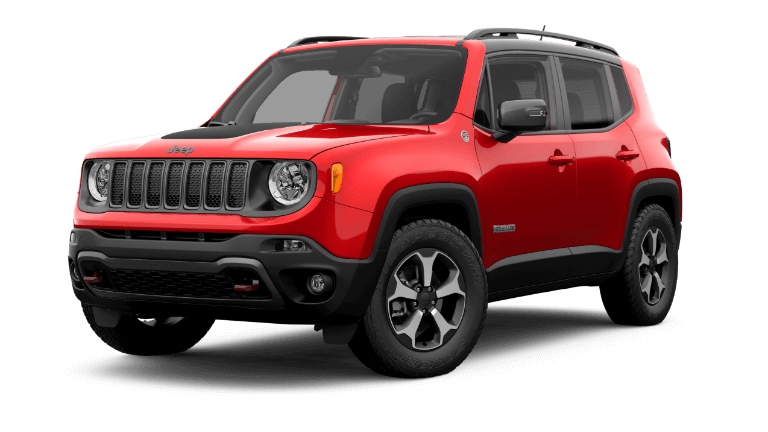2019 Jeep Renage Trailhawk - Colorado Red