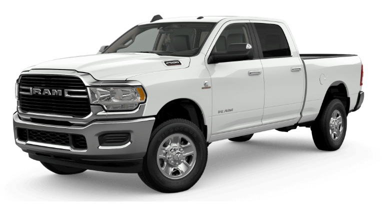 2019 Ram 2500 Big Horn - Bright White