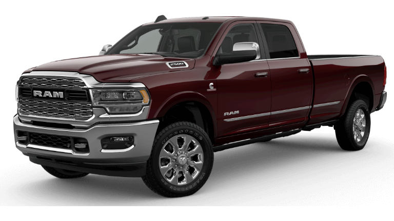 2019 Ram 2500 Limited - Delmonico Red