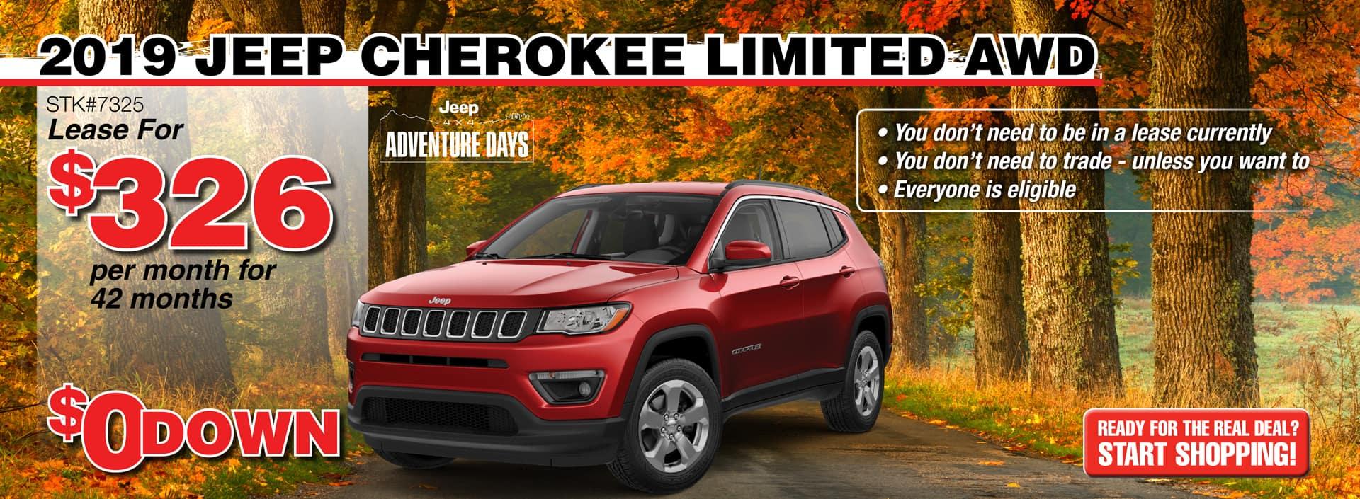 2019 Jeep Cherokee Limited AWD