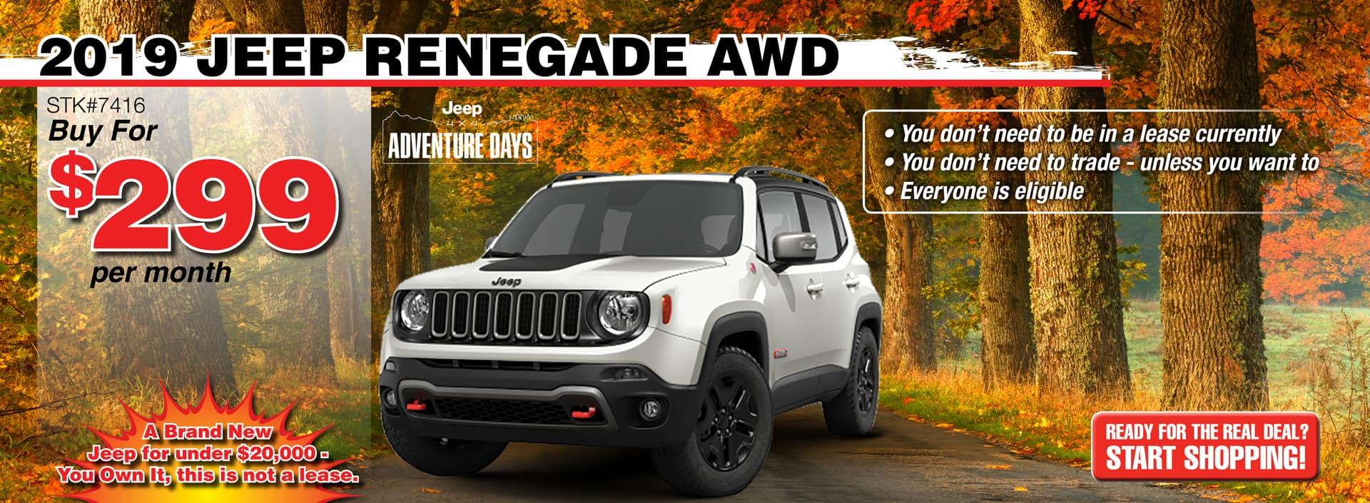 2019 Jeep Renegade AWD