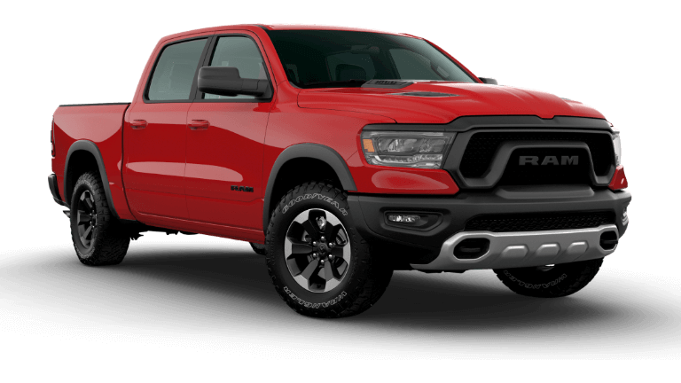 Flame Red 2020 Ram 1500 Rebel