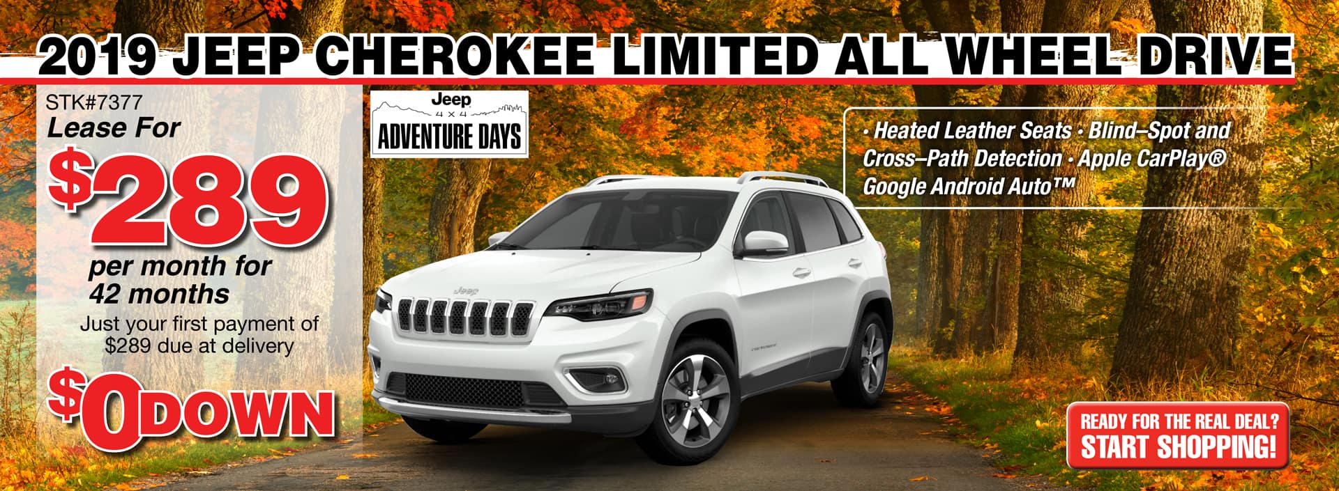 2019 Jeep Cherokee Limited AWD