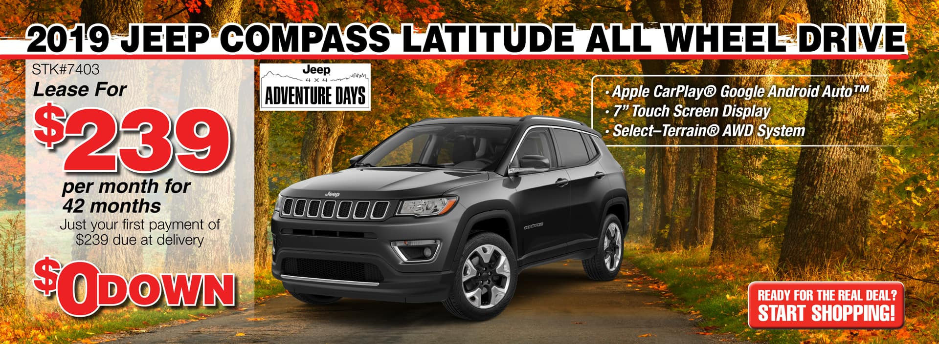 2019 Jeep Compass Latitude All Wheel Drive