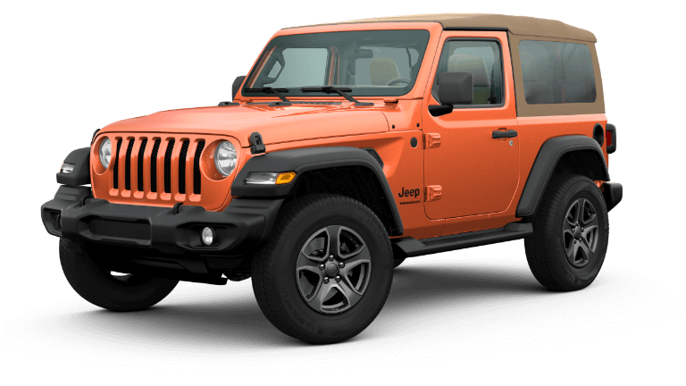 2020 Jeep Wrangler Black and Tan - Punkn